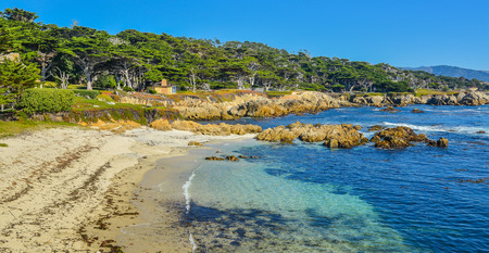 monterey: Cypress Point Lookout - A Stop on the 17-Mile Drive, Monterey, California
