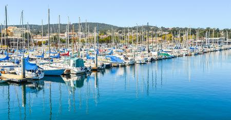 monterey: Marina of Monterey, California