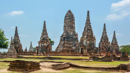 praya: Wat Chaiwatthanaram - Ayutthaya, Thailand