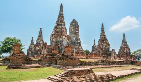 reincarnation: Wat Chaiwatthanaram - Ayutthaya, Thailand