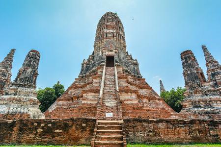 eastern philosophy: Wat Chaiwatthanaram - Ayutthaya, Thailand