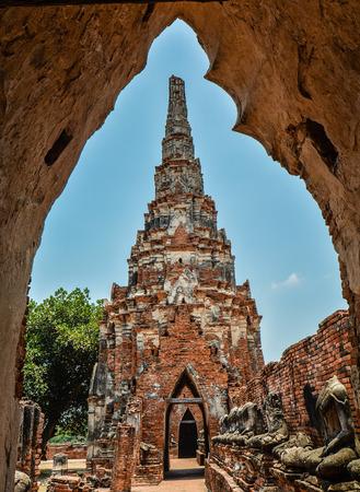 Chedi in Wat Chaiwatthanaram - Ayutthaya, Thailand