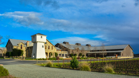 family owned: Oakville, CA, USA - Jan. 31, 2016: Silver Oak Cellars. Established in 1972, Silver Oak Cellars is a family-owned, California winery dedicated to producing only Cabernet Sauvignon. Editorial