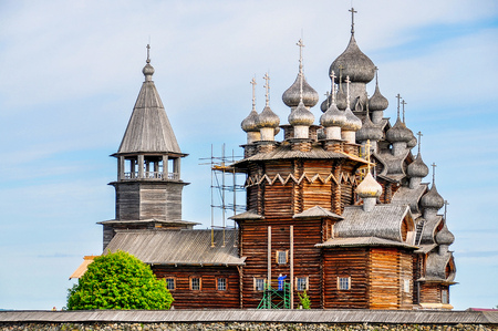 the ascension: Church of the Ascension - Kizhi Island, Russia