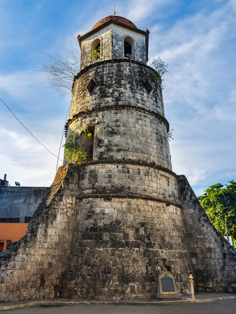 Historical Bell Tower Made From Coral Stone - Dumaguete City, Negros Oriental, Philippines