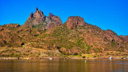 Mount Tetakawi, Iconic Landmark of San Carlos, Mexico Banco de Imagens - 70750102