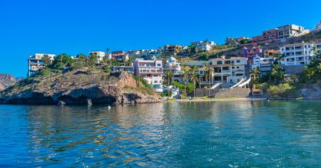 Luxury Homes on Hillside Overlooking the Sea of Cortez - San Carlos, Sonora, Mexico
