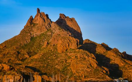 Mount Tetakawi, Iconic Landmark of San Carlos, Mexico Banco de Imagens - 70750107