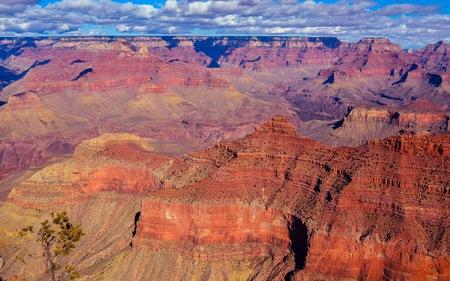 Grand Canyon, a View in South Rim - Arizona