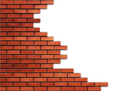 Part of brick wall Stock Photo