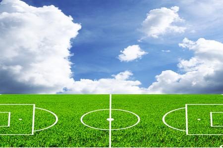 football (soccer) field photo