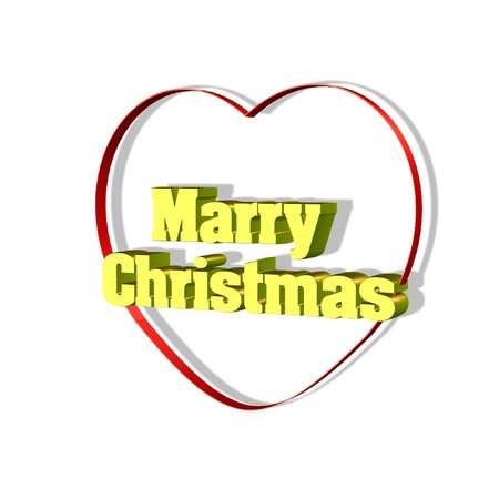 marry christmas: Marry christmas Stock Photo
