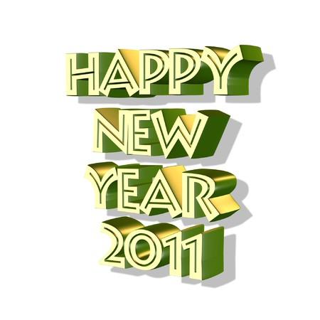 new year 2011 Stock Photo - 7777941