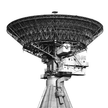 Antennes de très grand réseau satellite à plat  Banque d'images