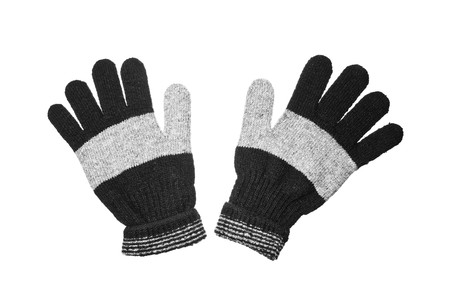 gloves isolated on the white background Stock Photo