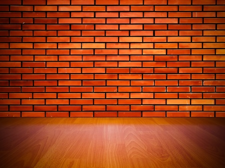old inter with brick wall, vintage background  Stock Photo - 9096984