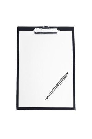 tablet on a white background Stock Photo