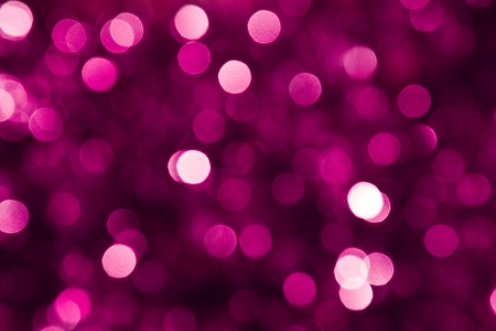 Defocused pink abstract christmas background Stock Photo