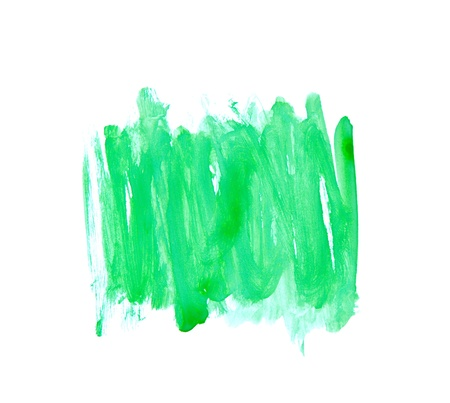 Green Water Color Paint Texture  photo