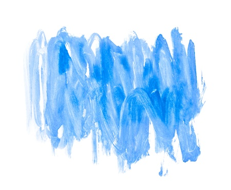 Blue Water Color Paint Texture Stock Photo - 10697743
