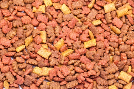 Pet food background photo