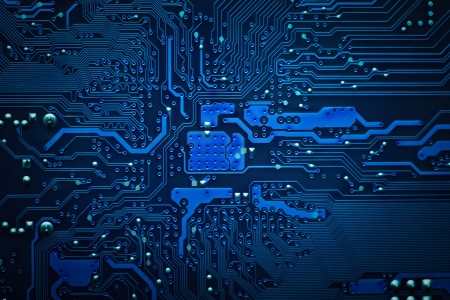 printed circuit board: circuit board background