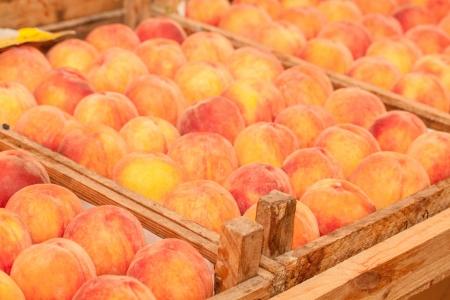 Peach close up photo