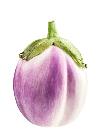 eggplant isolated on white Stock Photo