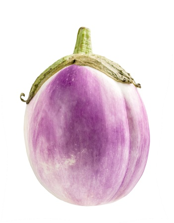 eggplant isolated on white Banque d'images