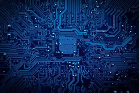 technology: Placa de circuito fundo