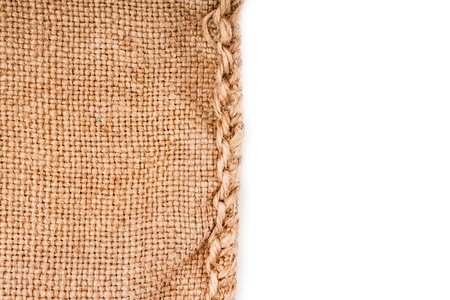 Natural linen texture for the background Stock Photo - 17475278