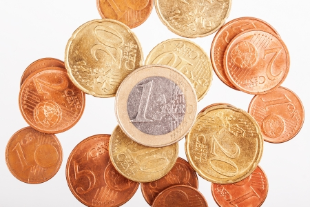 Euro coins Stock Photo - 17475260