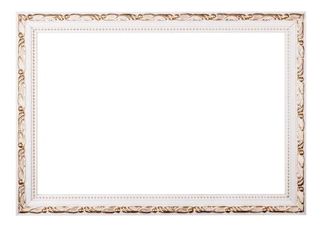 Vintage frame isolated on white background Stock Photo - 17890217