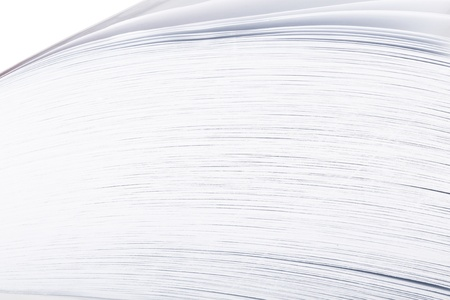 Stack white paper Stock Photo - 18876796
