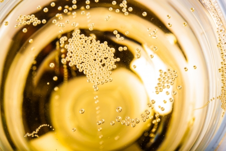 Close-up champagne Stock Photo
