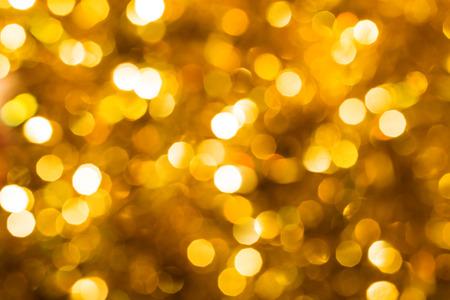 Unscharf gold abstract christmas background Standard-Bild - 30607303