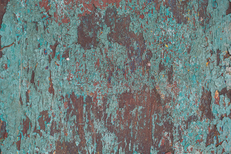 abstract corroded colorful wallpaper grunge background iron rusty artistic wall peeling paint. photo