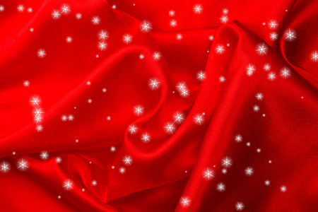 silk fabric: Red silk fabric background