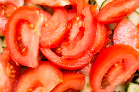 tomato slices: Tomato slices background