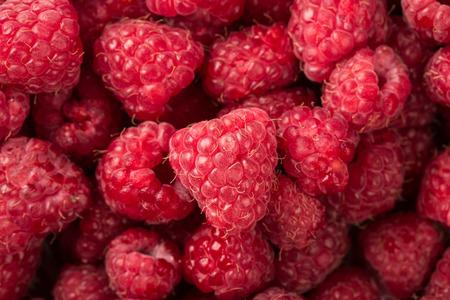 vitaminic: Raspberry fruit background Stock Photo