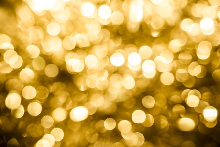 winter celebration: Abstract Christmas golden background