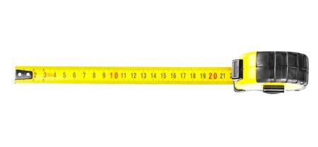 Tape measure in centimeters Stock Photo