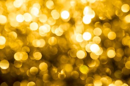 Abstract Weihnachten goldenen Hintergrund Standard-Bild - 44210769