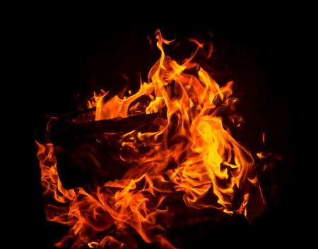 blasting: Burning fire flame