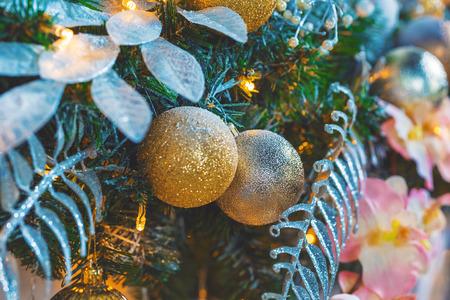hearth and home: Christmas living room with Christmas tree