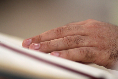 many of a priest during mass,details Stock Photo