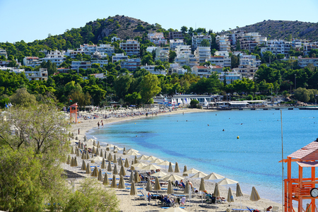 Vouliagmeni, beautiful seaside town near Athens, Greece