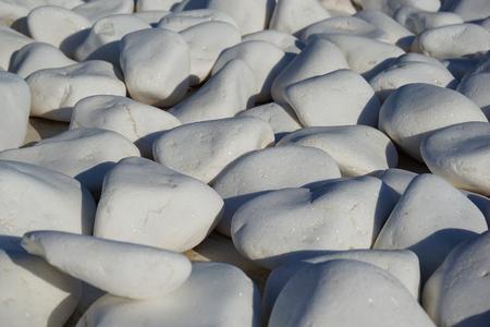 Detail of white stones in Oia, Santorini, Greece 版權商用圖片