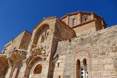 The church of Agia Sofia is a valuable church located in the upper part of the fortress, right on a cliff overlooking the sea.