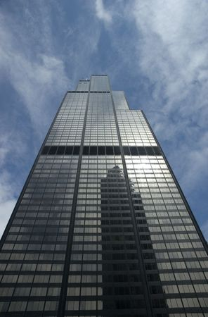 South Facade of the Sears Tower in Chicago, Illinois